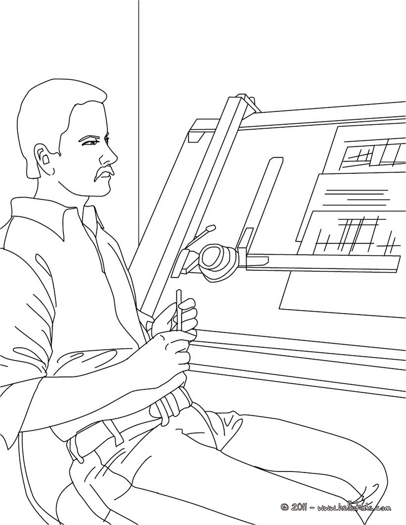 Coloring pages jobs - Printable Coloring Pages Jobs