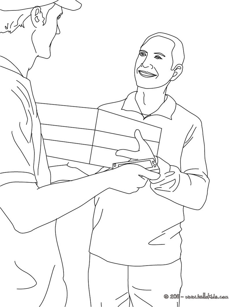 printable coloring pages jobs