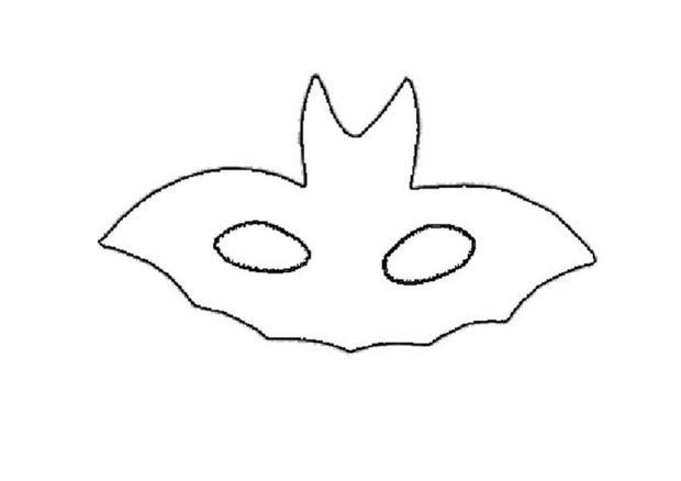 Printable Halloween masks - Halloween monster masks for kids - mask templates for adults