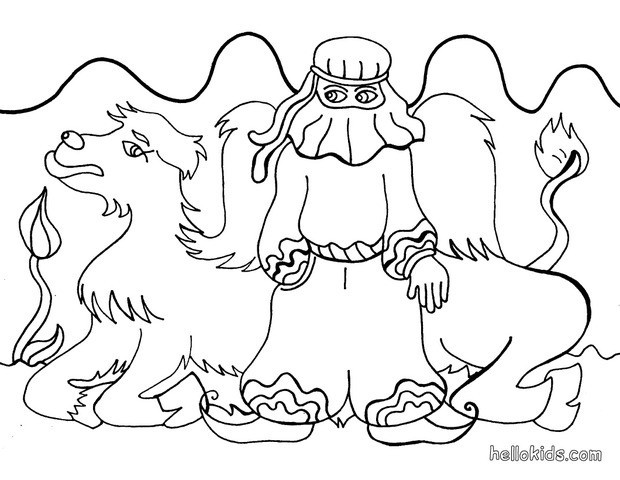 Desert coloring pages - Hellokids