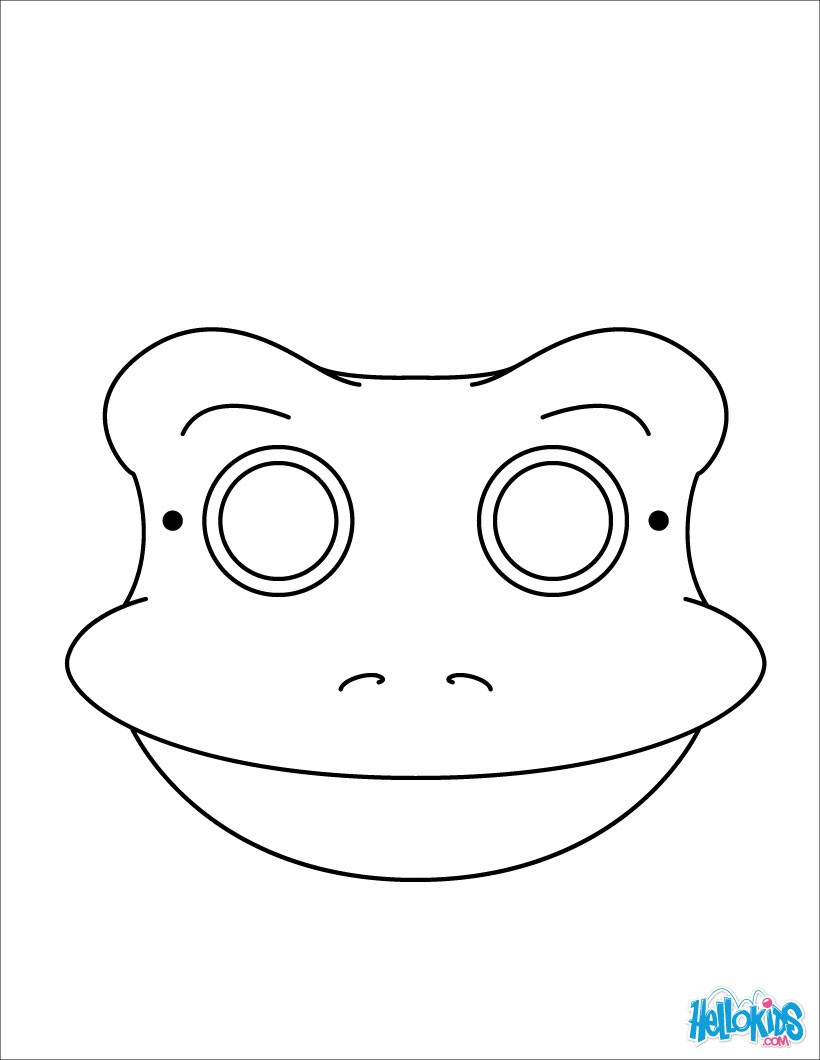 Dog Face Mask Template – Template for Face Mask