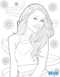 Disegni Da Colorare Di Ariana Grande Disegno Ariana