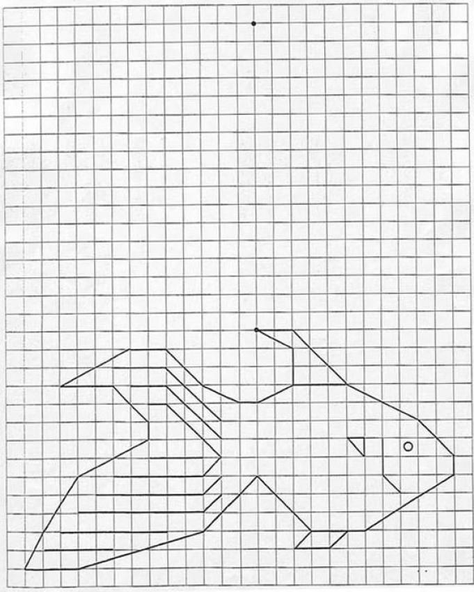 How to draw goldfish - Hellokids