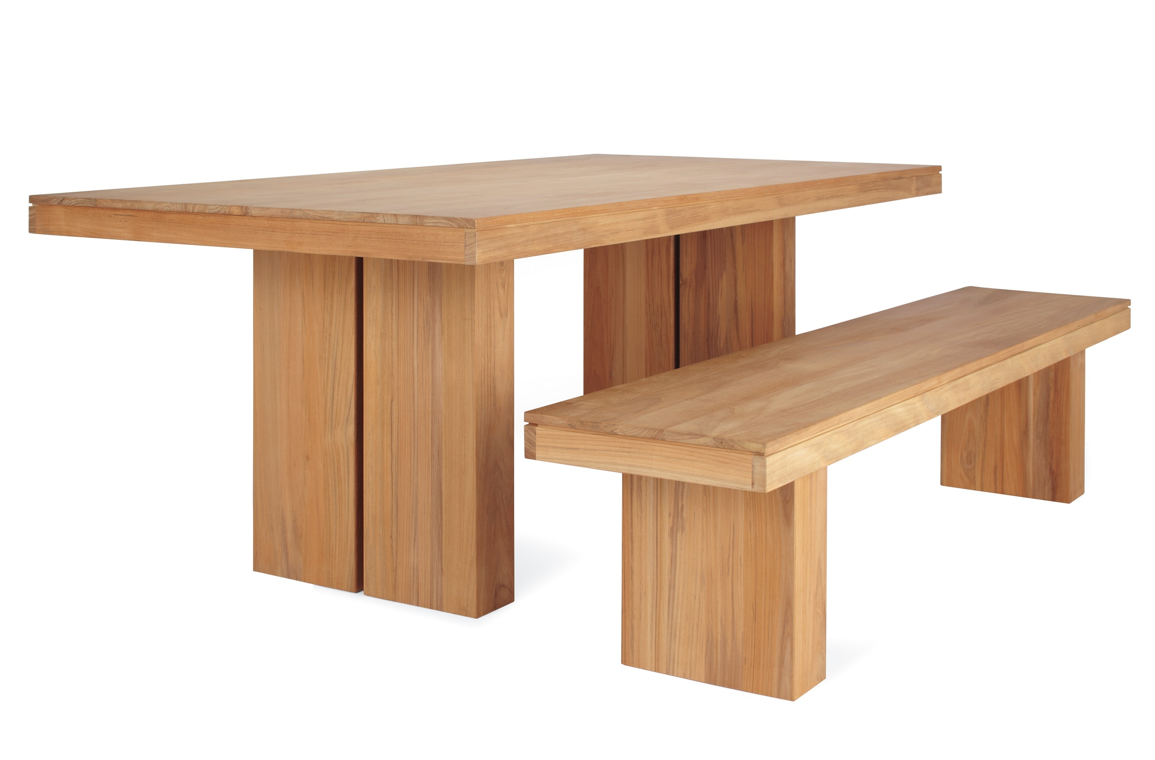 Kayu Teak Dining Table Design Within Reach