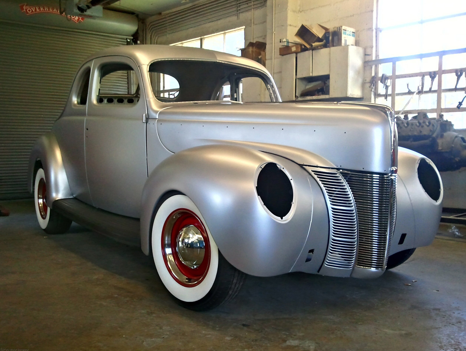 Coupe Ford 1940 Ford Coupe Joins List Of Ford Licensed Products Video