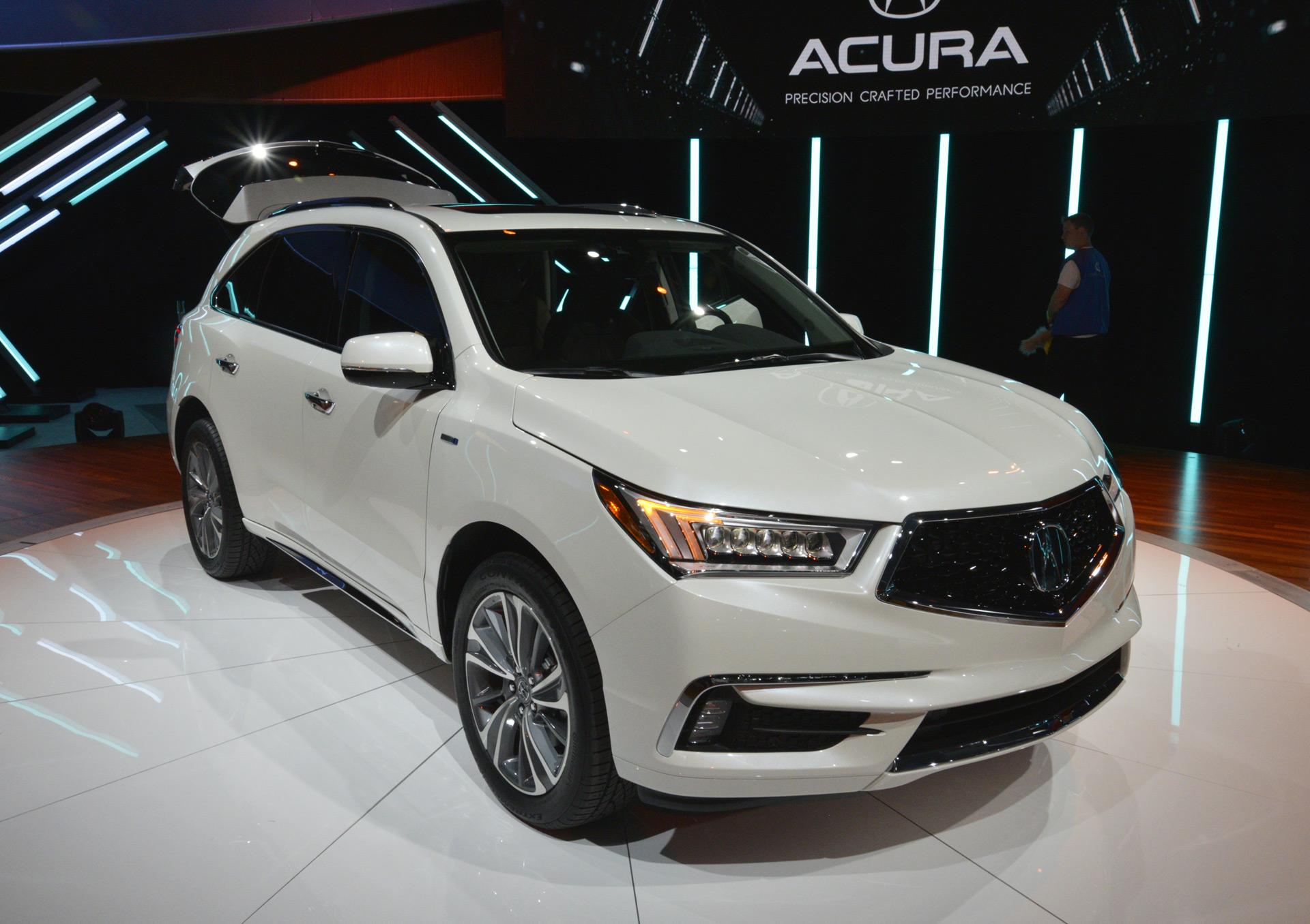2016 acura mdx hybrid