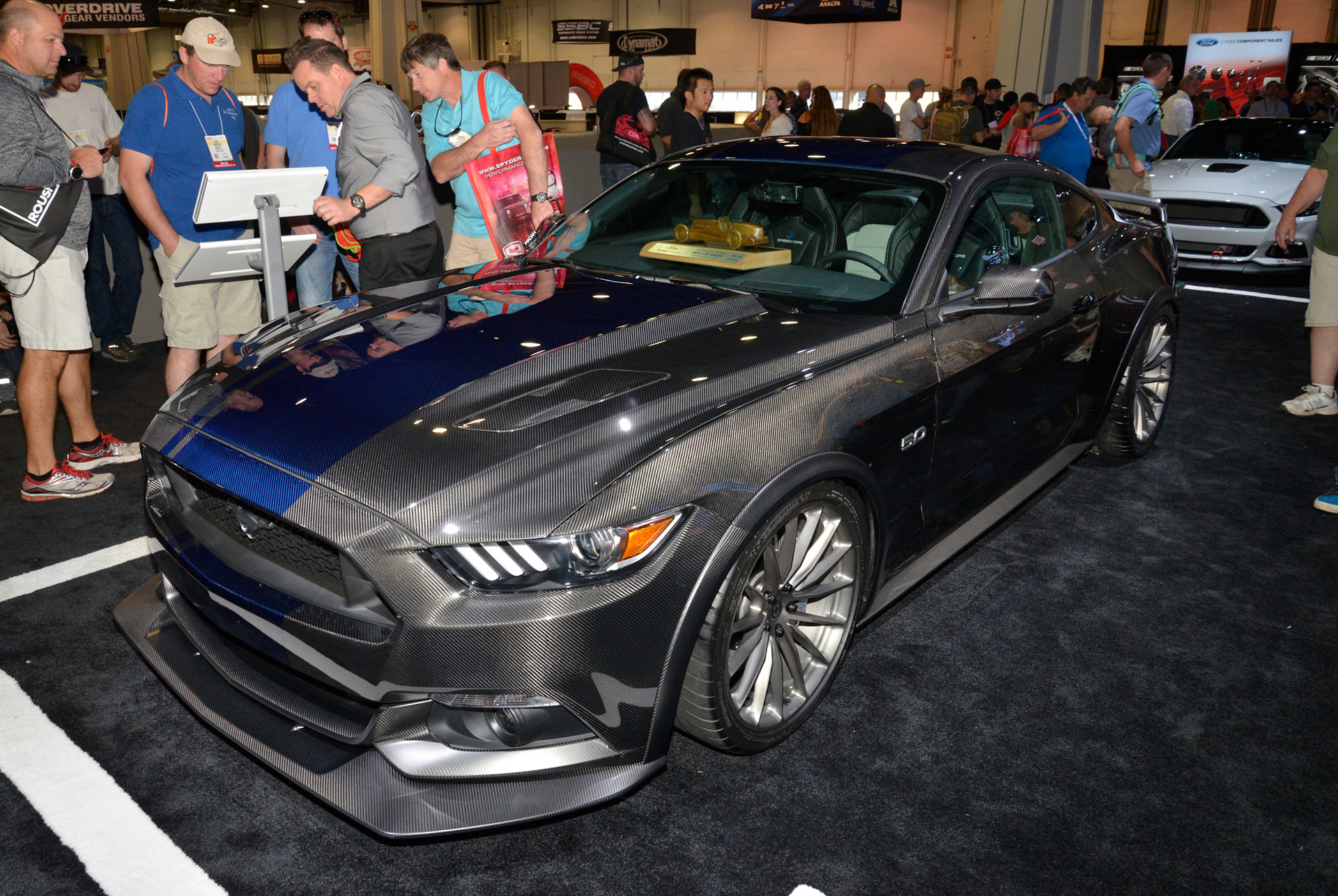Coupe Ford Ford Mustang Voted Hottest Coupe Of 2016 Sema Show