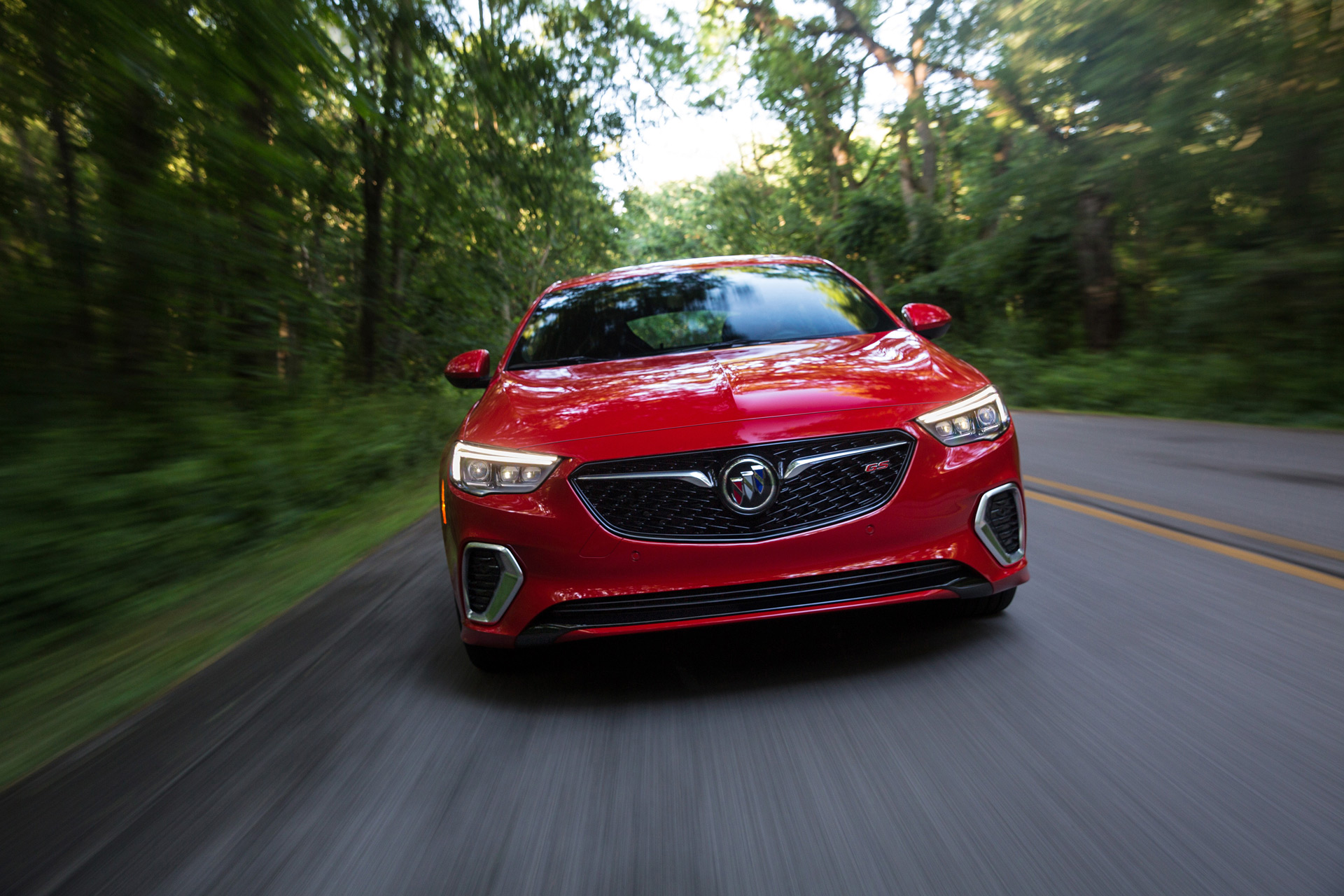Regal Led Headlamp 2018 Buick Regal Gs First Drive Review Six Appeal
