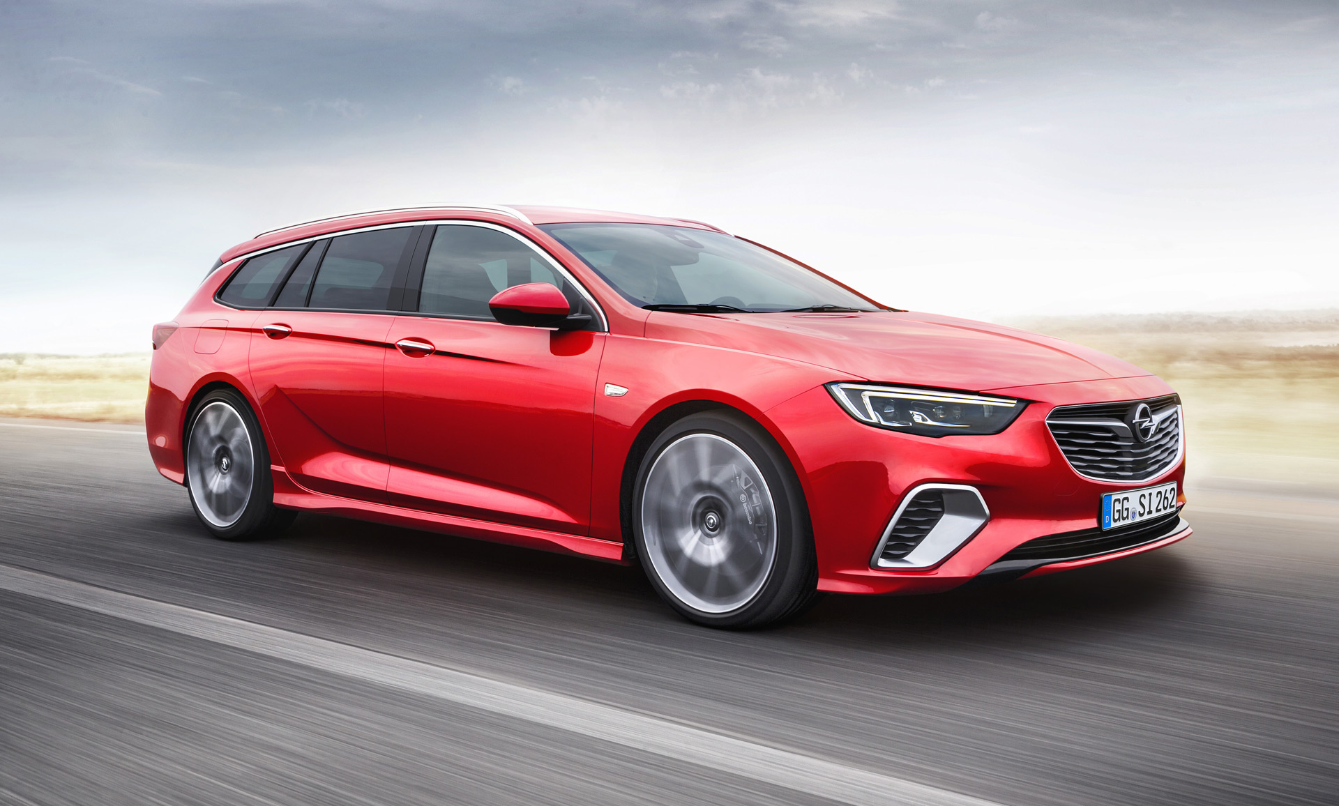 Vauxhall Insignia 2018 Wagons Ho Opel Insignia Gsi Sports Tourer Revealed