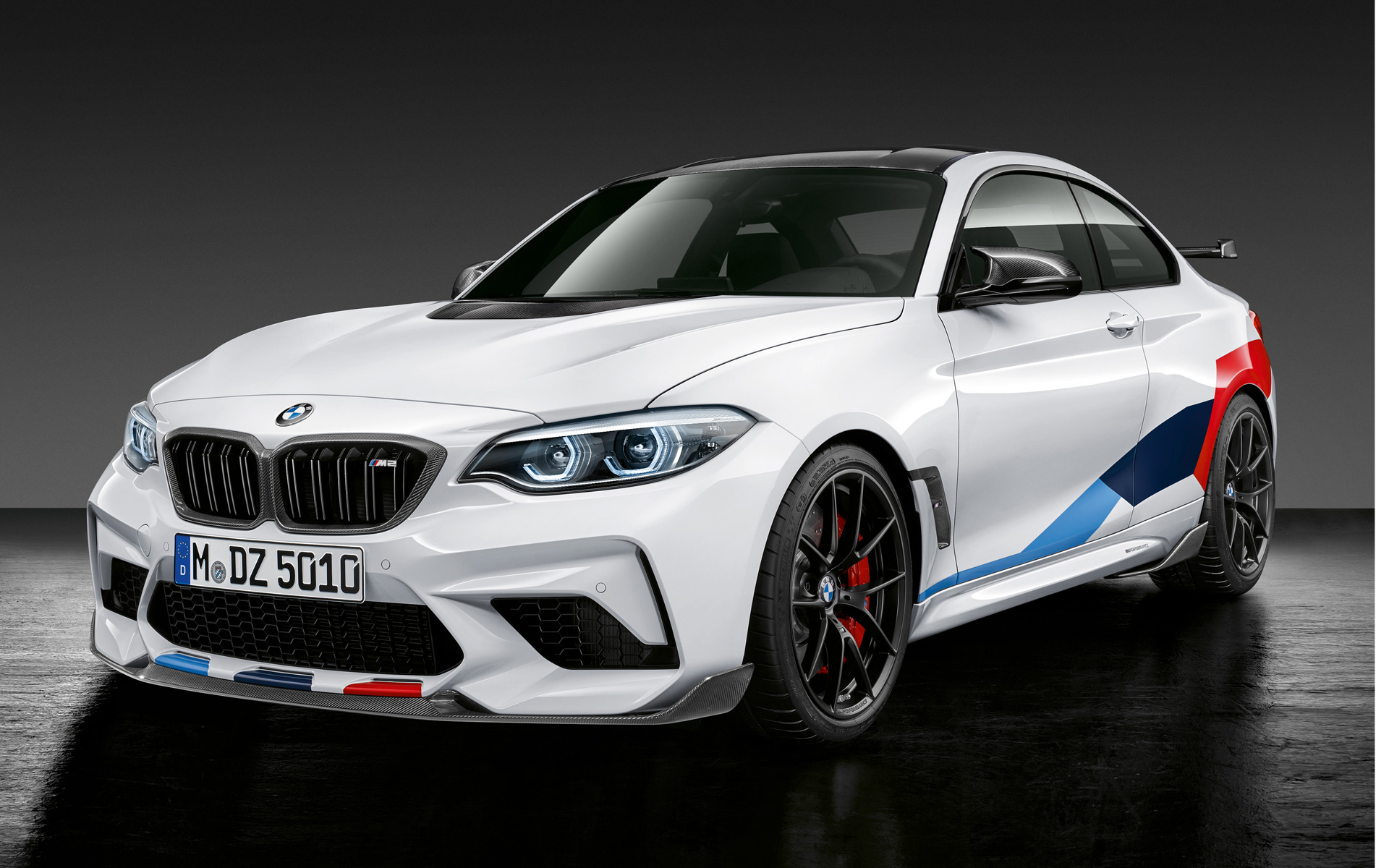 Interieur M Performance Bmw M2 Competition Sharpened With M Performance Parts