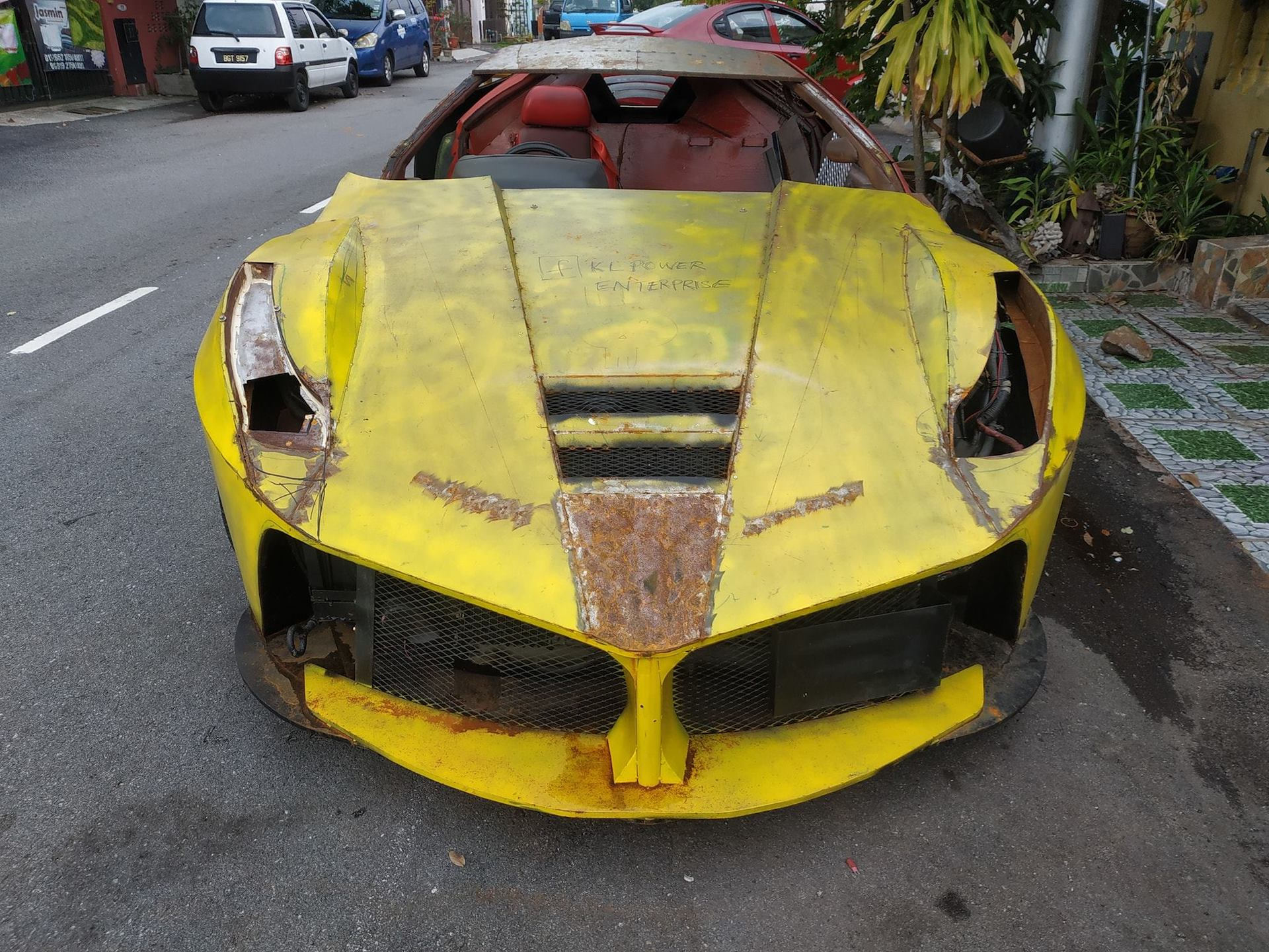 Replica ???? Balling On A Budget Steel Laferrari Replica Shows Up In Malaysia
