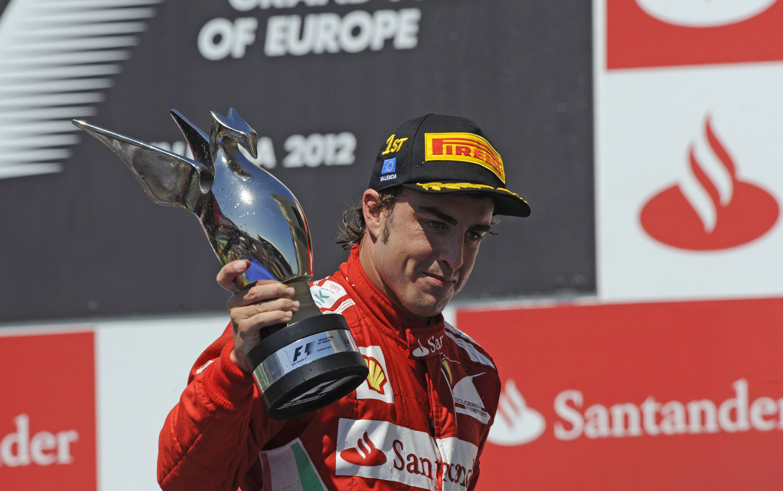 Fernando Alonso F1 Grand Prix Fernando Alonso Wins Formula 1 European Grand Prix In Spain