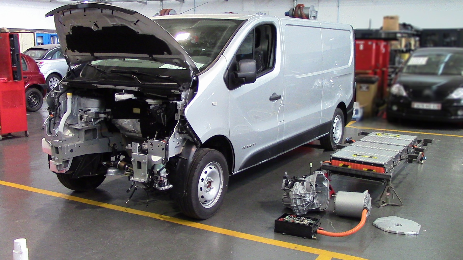 Electric Car Battery Technology Use Old Electric Car Batteries To Electrify Used Vans