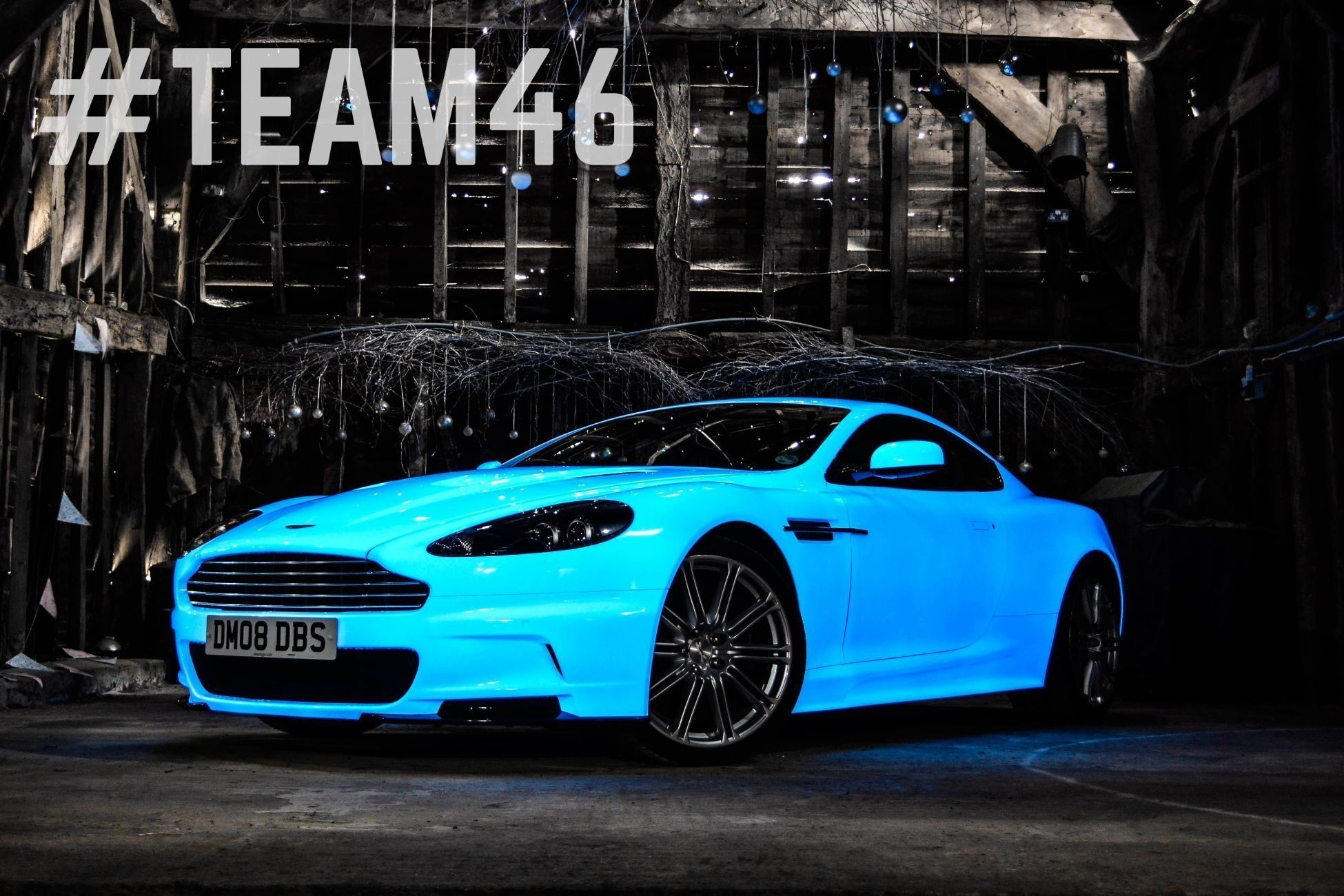 Coolest Car In The World Wallpaper Gumball 3000 Aston Martin Sports New Glow In The Dark Paint