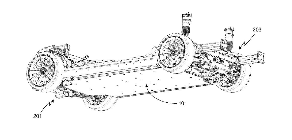 tesla model x engine diagram