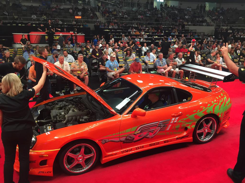 Toyota Supra From The Fast And The Furious Original Fast And Furious Toyota Supra Sells For 185 000 At Auction