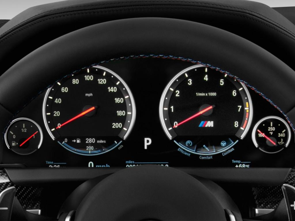 Car Speedometer Wallpaper Image 2013 Bmw M6 2 Door Coupe Instrument Cluster Size