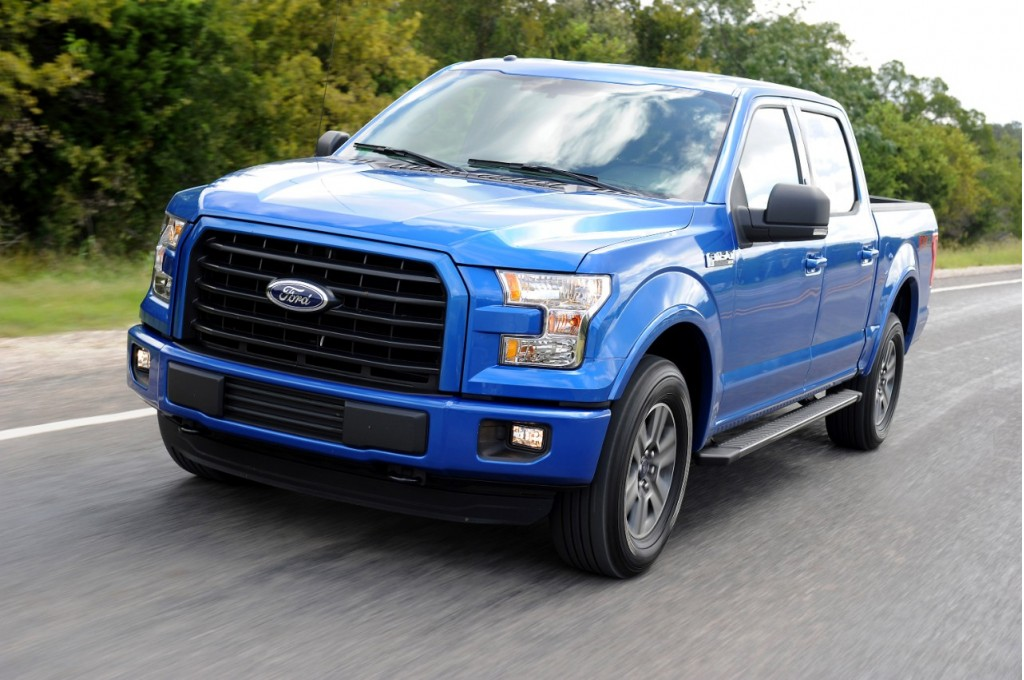 2015 Ford F-150 Aluminum-Body Pickup Mixed IIHS Safety Scores