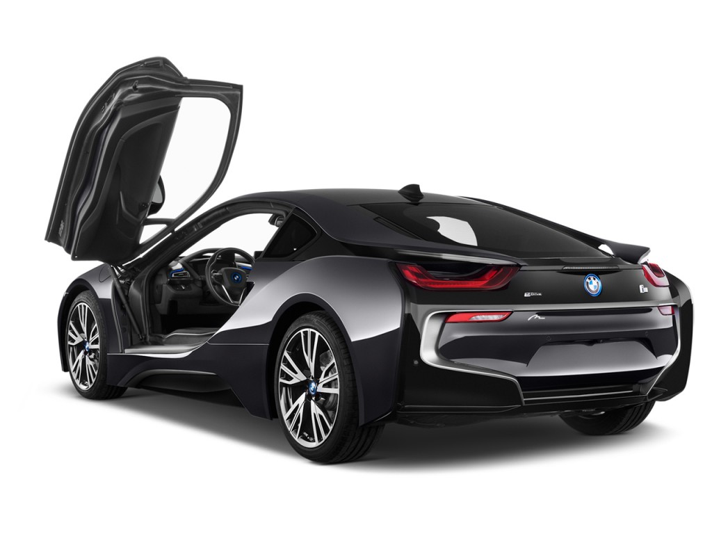 Two Door Cars Image 2016 Bmw I8 2 Door Coupe Open Doors Size 1024 X