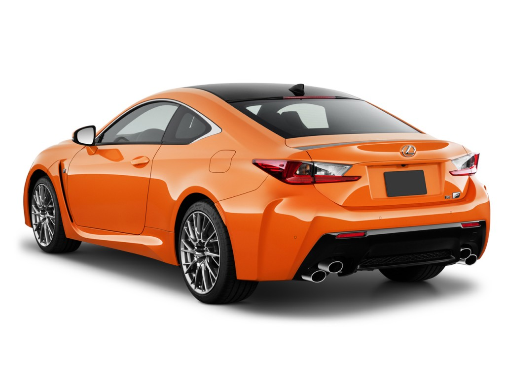 Two Door Cars Image 2016 Lexus Rc F 2 Door Coupe Angular Rear Exterior