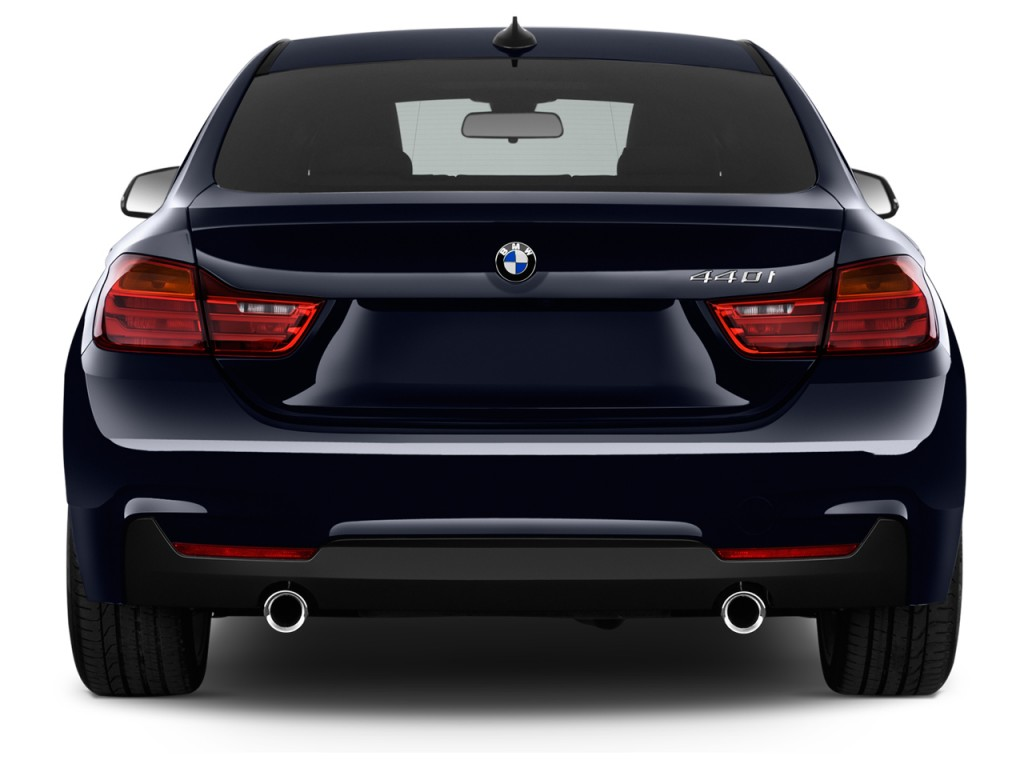 Bmw 4 Series Gran Coupe Dimensions Image 2017 Bmw 4 Series 440i Gran Coupe Rear Exterior