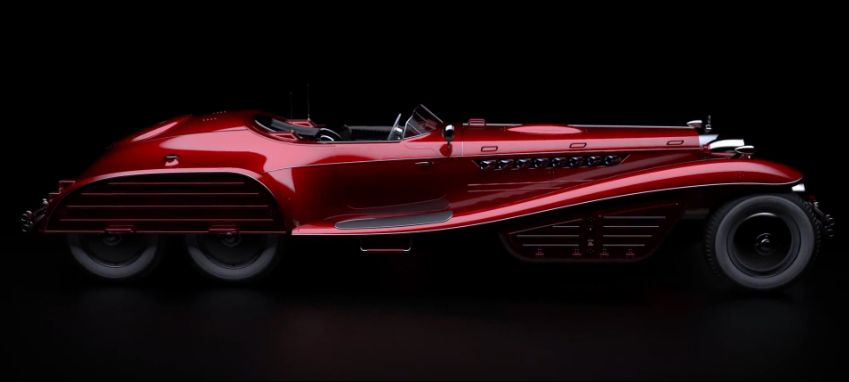 James Bond Car Wallpaper Is The Red Skull S Schmidt Hydra Coupe The Ultimate