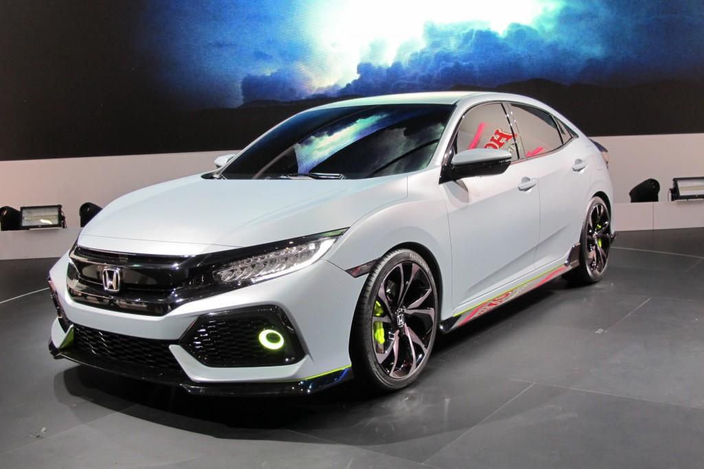 2017 Honda Civic hatchback unveiled in Geneva