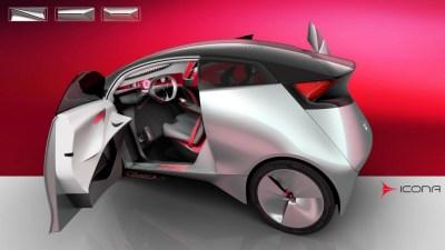 Image: Icona Neo concept, 2016 Festival Automobile International Paris, size: 1024 x 576, type ...