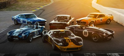$4 million worth of vintage Ford race cars headed to auction
