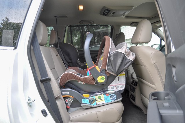 Rear Facing Car Seat Behind Driver 2016 Honda Pilot Long Term Road Test From Car Seats To