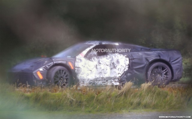 c8 corvette spy video