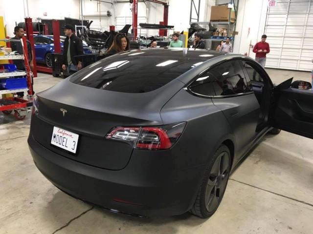 Tesla Model 3 acceleration found in chart on Model S advantages