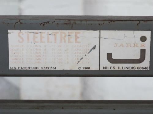 Jarke Press Brake Die Storage Rack 24000 Lbs Ebay