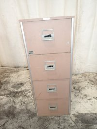 Used Victor Fire Proof File Cabinet