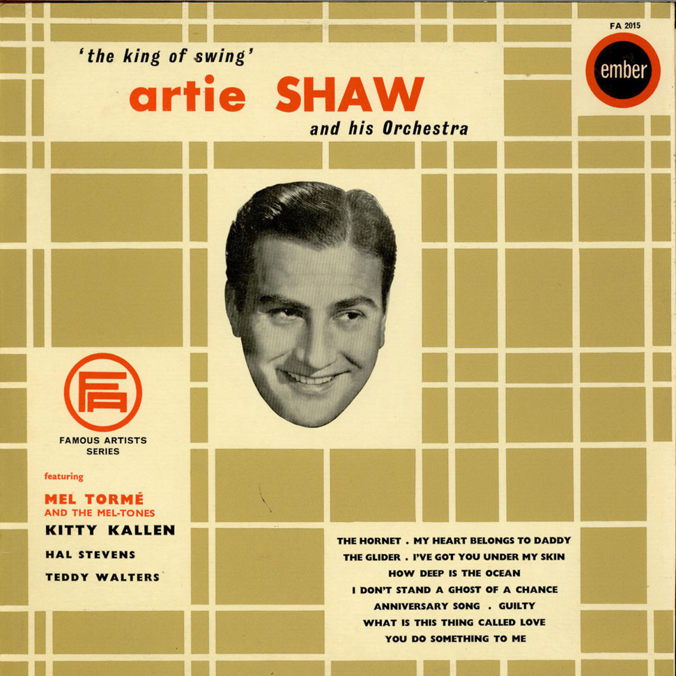 Artie Shaw Yesterdays Artie Shaw What Is This Thing Called Love