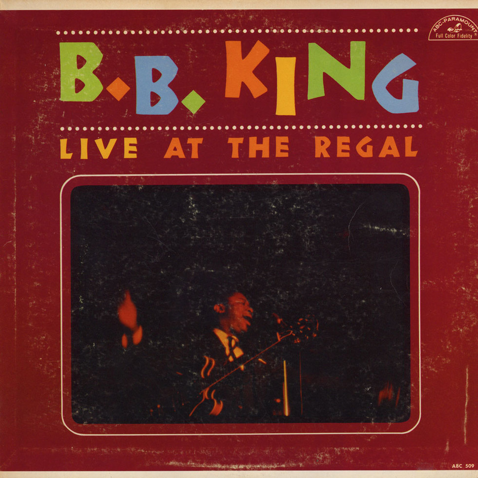 Lp Regal B B King Live At The Regal