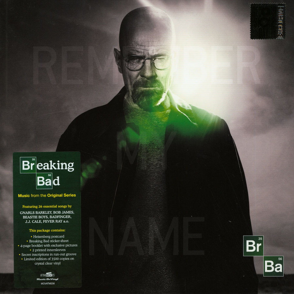 Vinylboden Bad V A Ost Breaking Bad Record Store Day 2019 Edition
