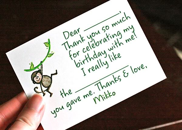 Hobo Mama Writing thank-you notes with babies and toddlers A top