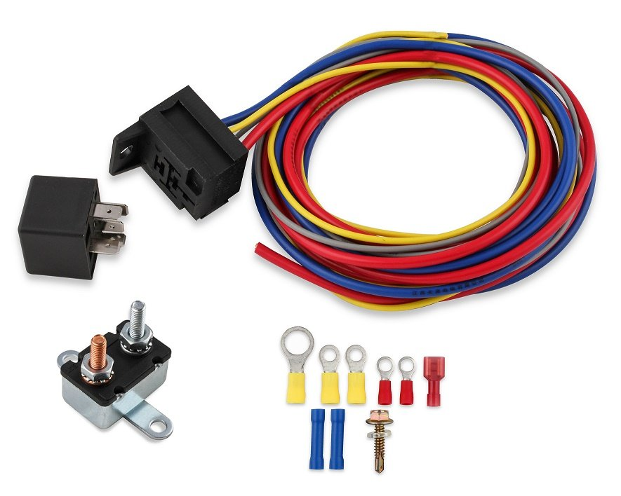Mr Gasket 40205G Mr Gasket Electric Fuel Pump Harness  Relay