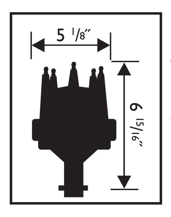MSD 85551 Chevy V8 Pro-Billet Distributor