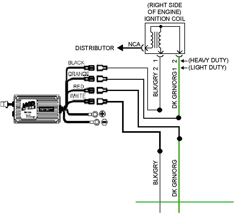 this diagram illustrates how to install a 6 series ignition with a pn