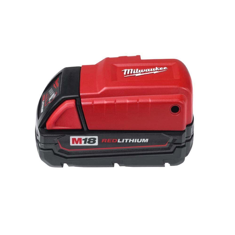 Milwaukee M18 Battery Milwaukee M18 18 Volt Lithium Ion Cordless Power Source Tool Only