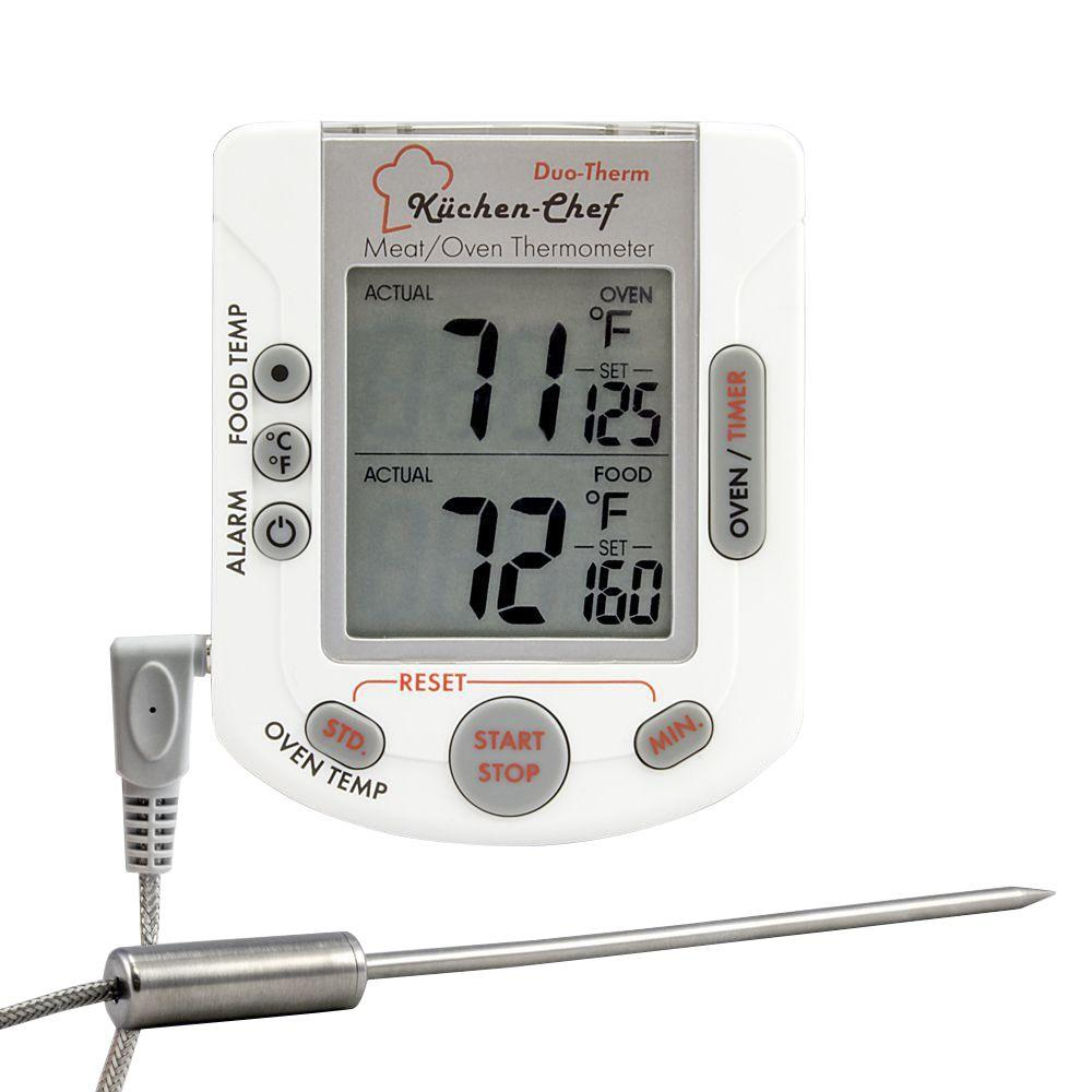 Einbauradio Küche Tfa Digital Oven And Meat Thermometer With Timer And Stopwatch