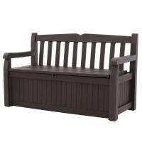 Keter Eden 70 Gal. Outdoor Garden Patio Deck Box Storage ...