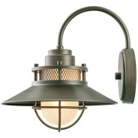 Globe Electric Liam Collection 1-Light Bronze Outdoor Wall ...