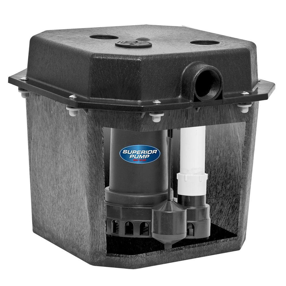 Superior Pump 92072 1 3 Hp Pre Assembled Submersible