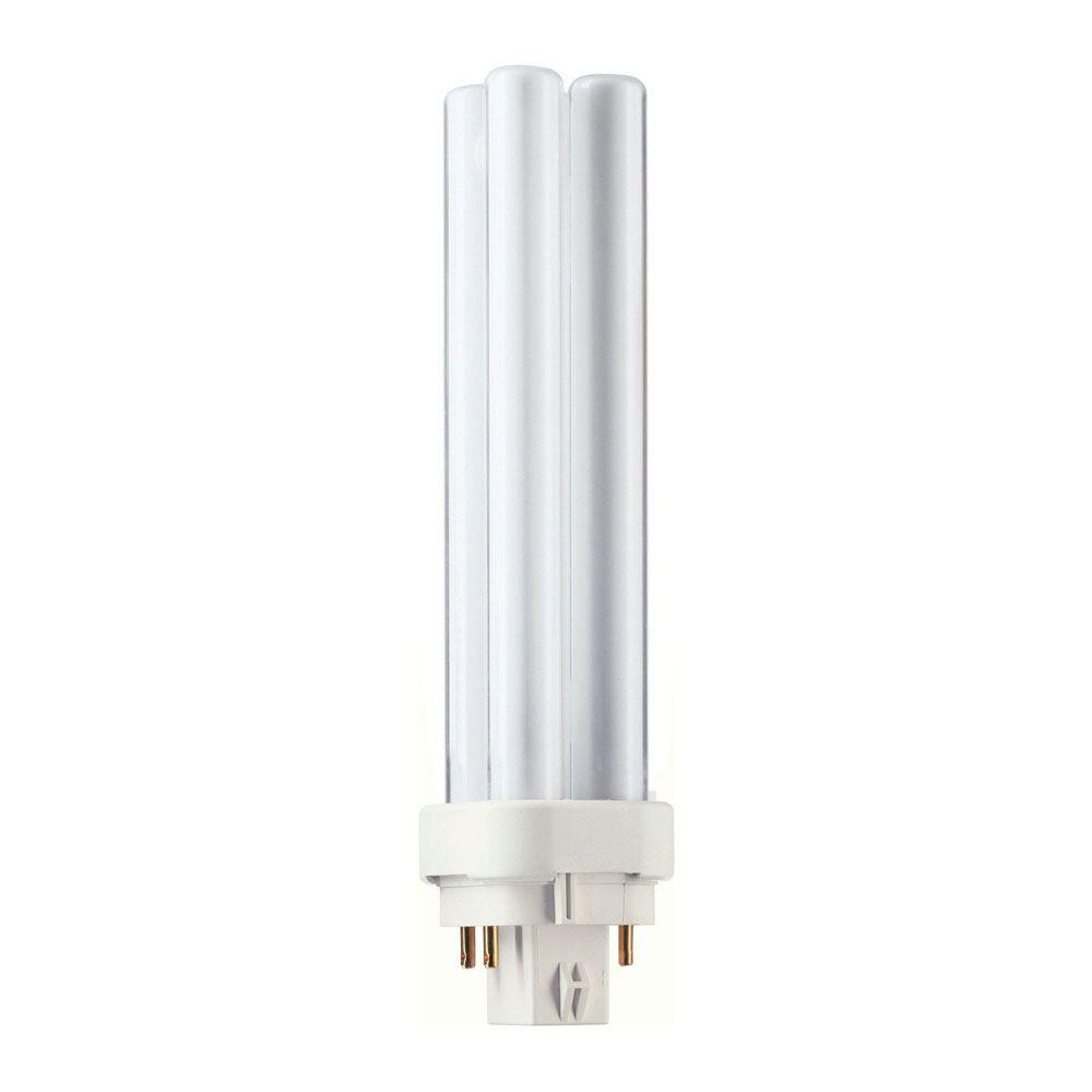 Bright Light Philips Philips 18 Watt Equivalent Cflni G24q 2 4 Pin Light Bulb Bright White 3500k