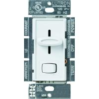 Lutron Skylark 1000-Watt Single-Pole Preset Dimmer - White ...