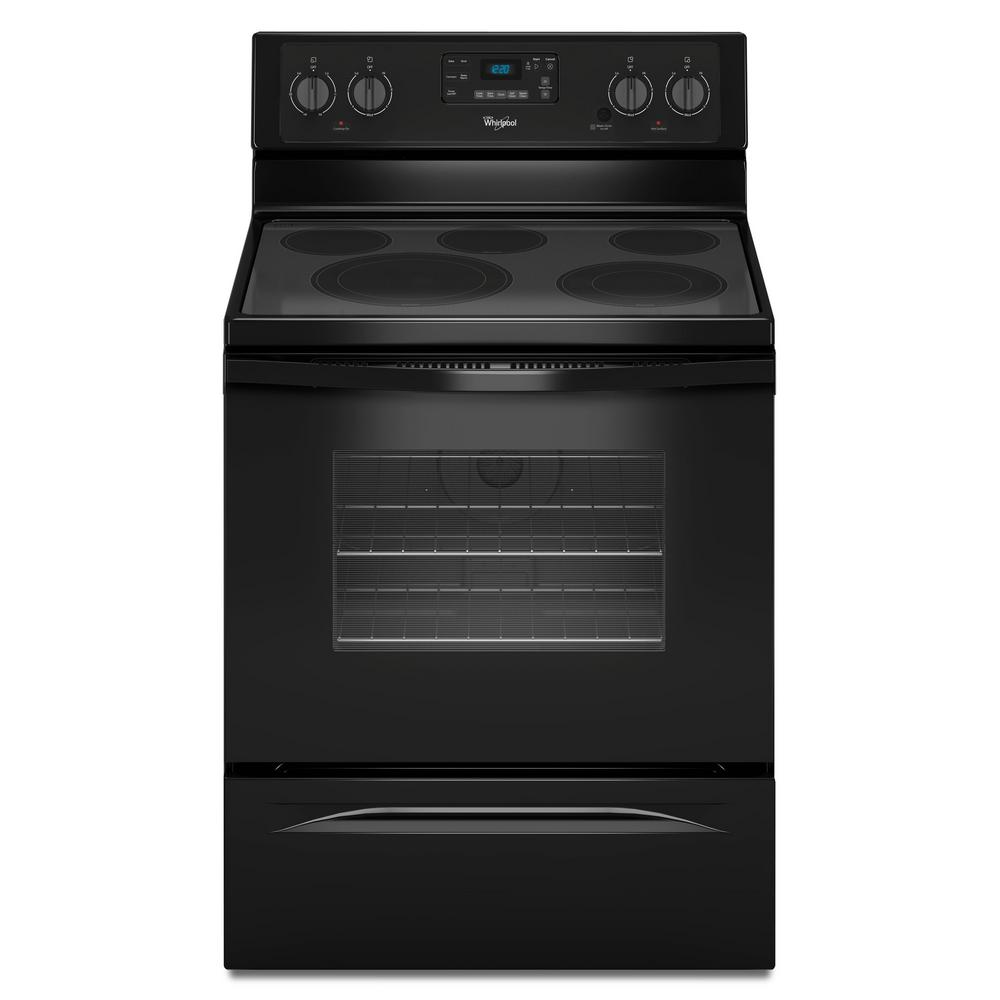 Whirlpool Oven Symbolen Whirlpool 30 In. 5.3 Cu. Ft. Electric Range With Self