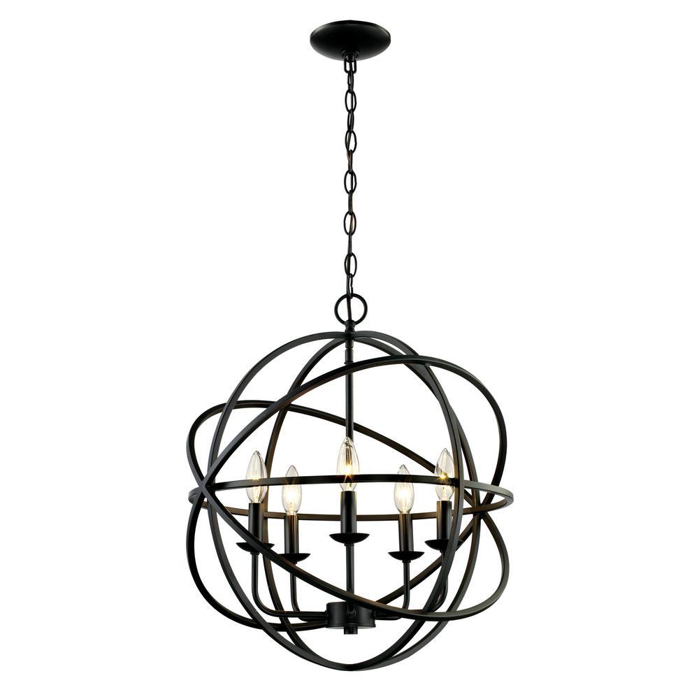 Bronze - Pendant Lights - Lighting - The Home Depot